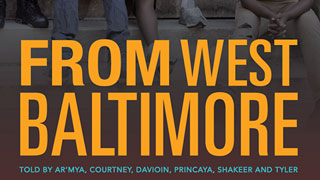 From West Baltimore