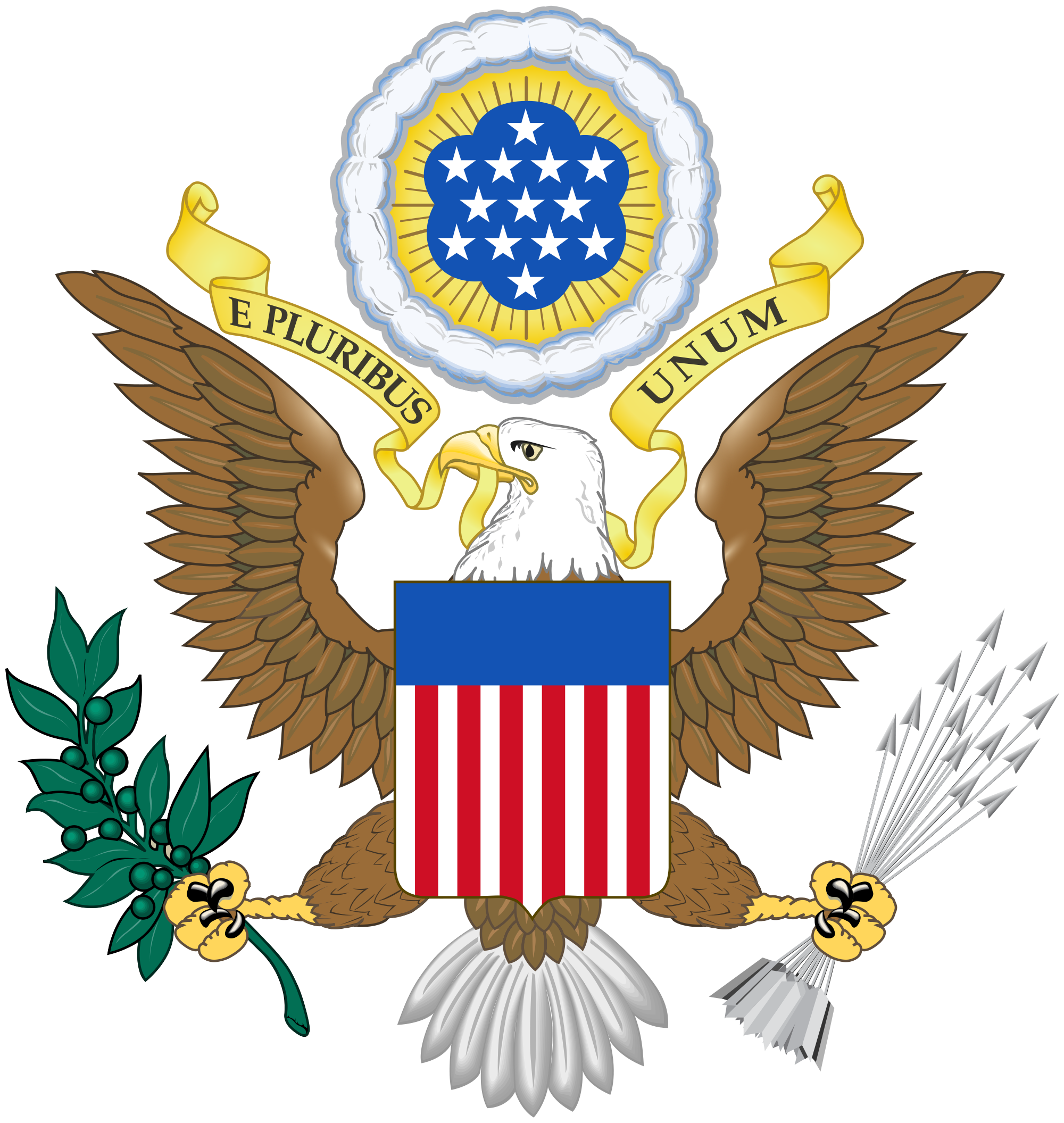The Great Seal of the United States ca. 1917 - 1919