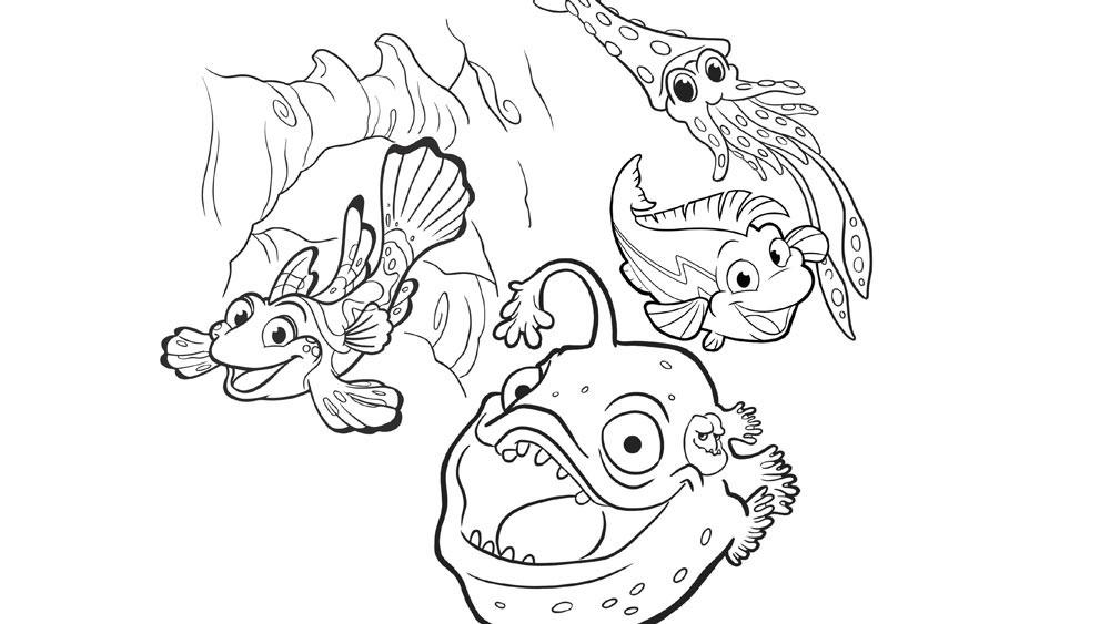 BIOLUMINESCENCE IN THE OCEAN