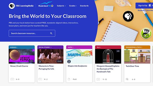 Rhode Island PBS LearmingMedia