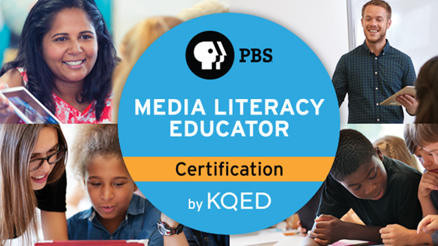 Become a PBS Certified Media Literacy Educator