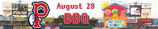 Join the Rhode Island PBS Kids Club and the Pawtucket RedSox for a night of family fun!