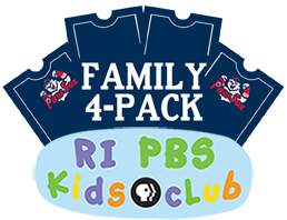 The Rhode Island PBS Kids Club and the PawSox are having a BBQ!