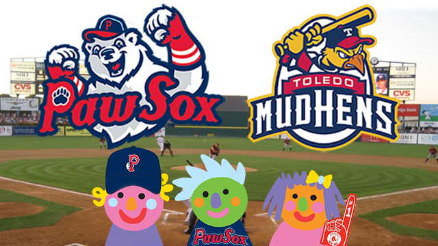 The Rhode Island PBS Kids Club and the Pawtucket Red Sox vs. Toledo Mud Hens
