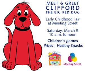 Meet and Greet Clifford, the Big Red Dog