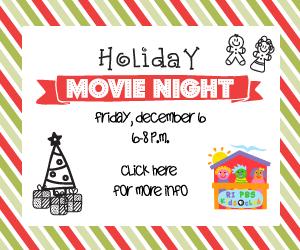 Rhode Island PBS Kids Club Holiday Movie Night
