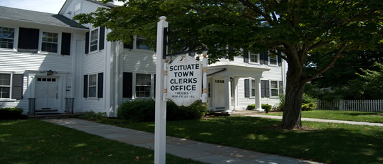 Scituate, Rhode Island Town Hall