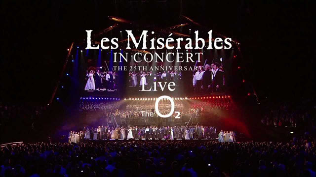 Les Miserables 25th Anniversary Concert at the O2