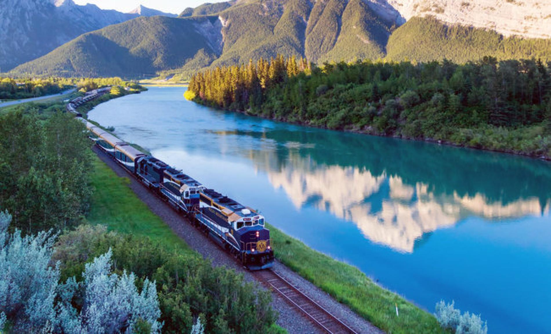 Travel through the Canadian Rockies by rail with the Rhode Island PBS Travel Club