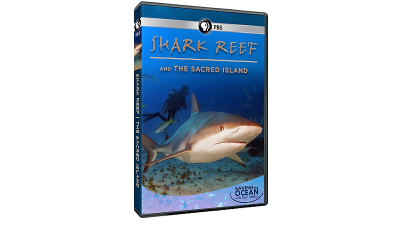 Saving the Ocean: Shark Reef & The Sacred Island DVD