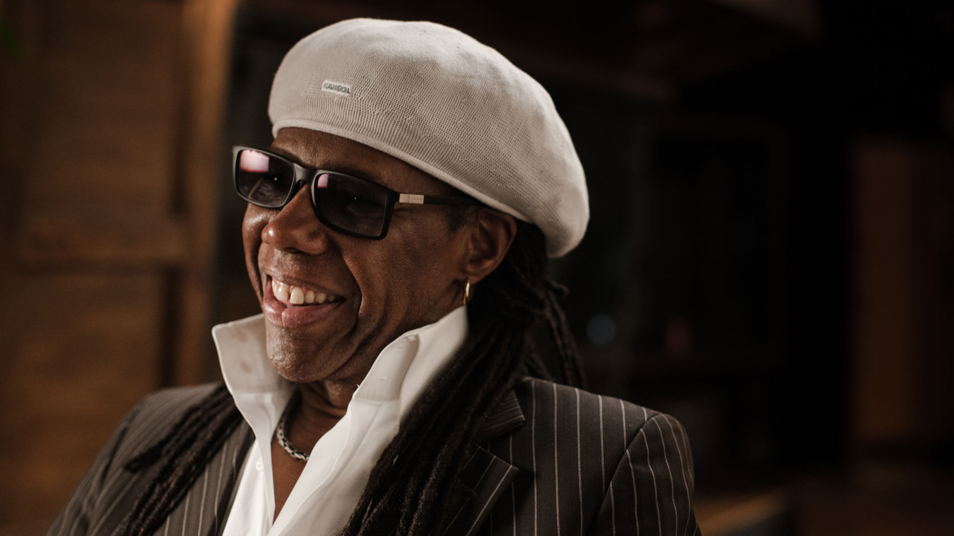 Nile Rodgers, lead guitarist and co-founding member of Chic, is a record producer, songwriter, musician, composer, arranger and guitarist.
