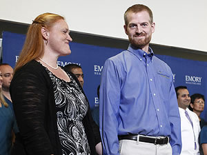 Kent Brantly at Emory University Hospital