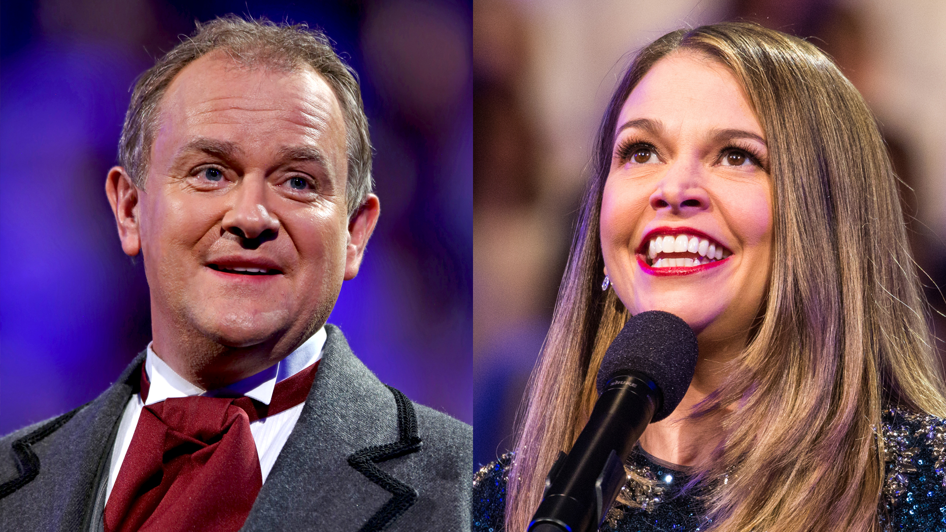 Hugh Bonneville and Sutton Foster