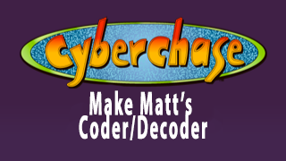 Make Matt's Coder/Decoder Activity