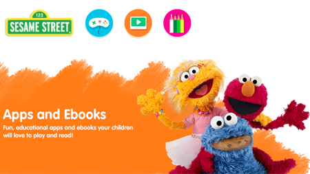Sesame Street Apps & eBooks