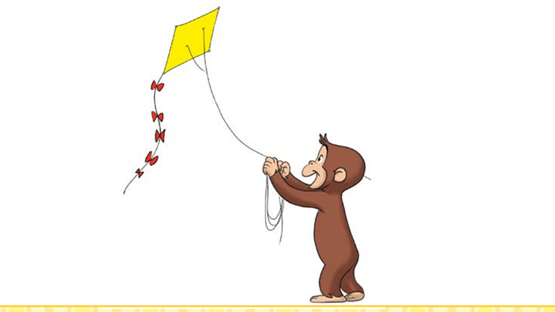 A Kite for you with Curious George
