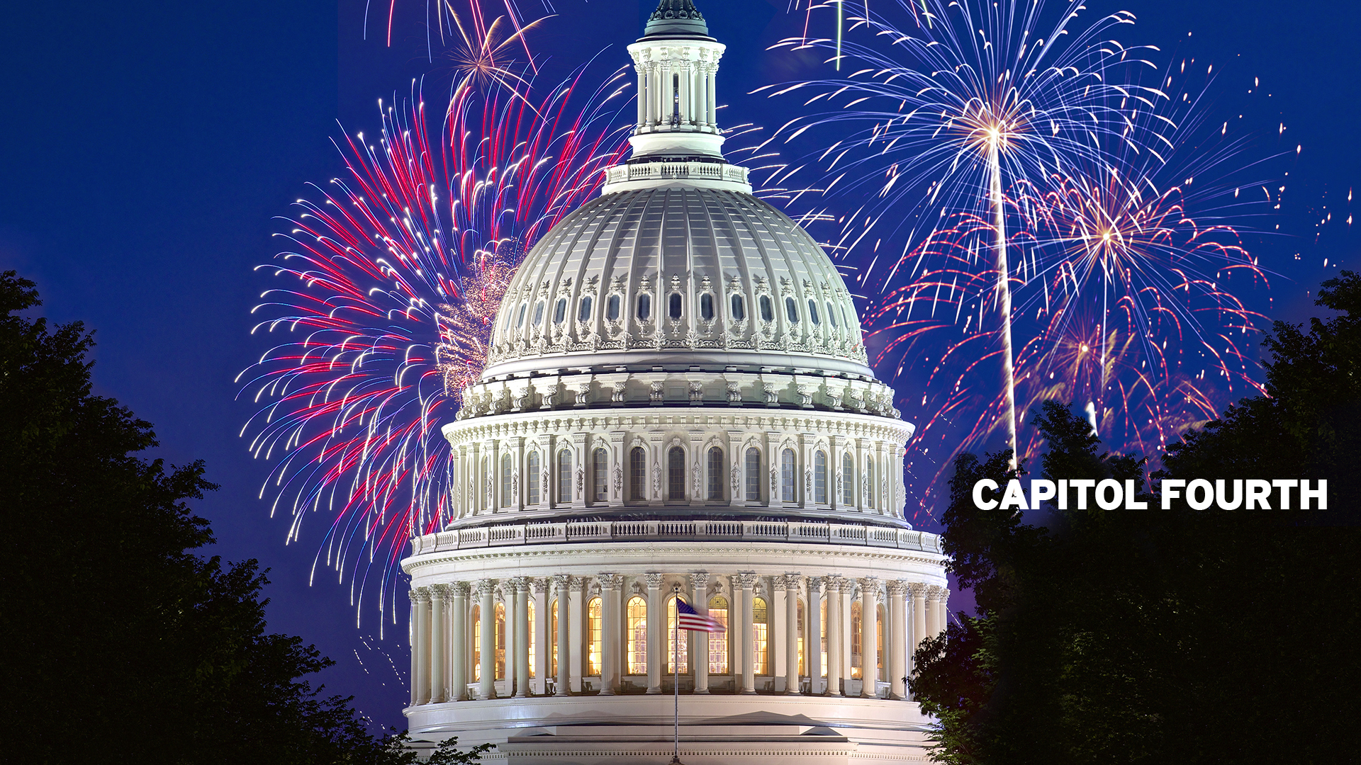 CAPITOL FOURTH - Wednesday, July 4 at 8pm.