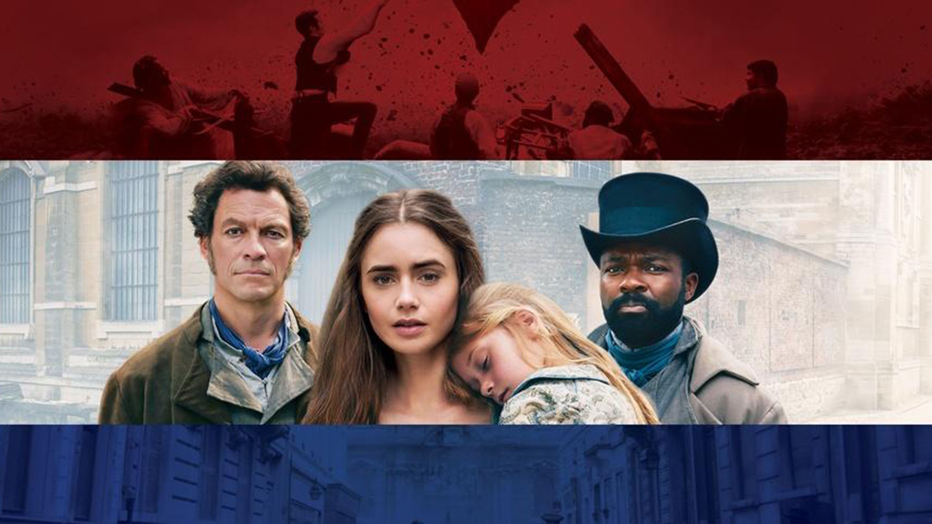 LES MISERABLES ON MASTERPIECE - SIX-PART SERIES - Beginning, Sunday, April 14 at 9:00 pm.