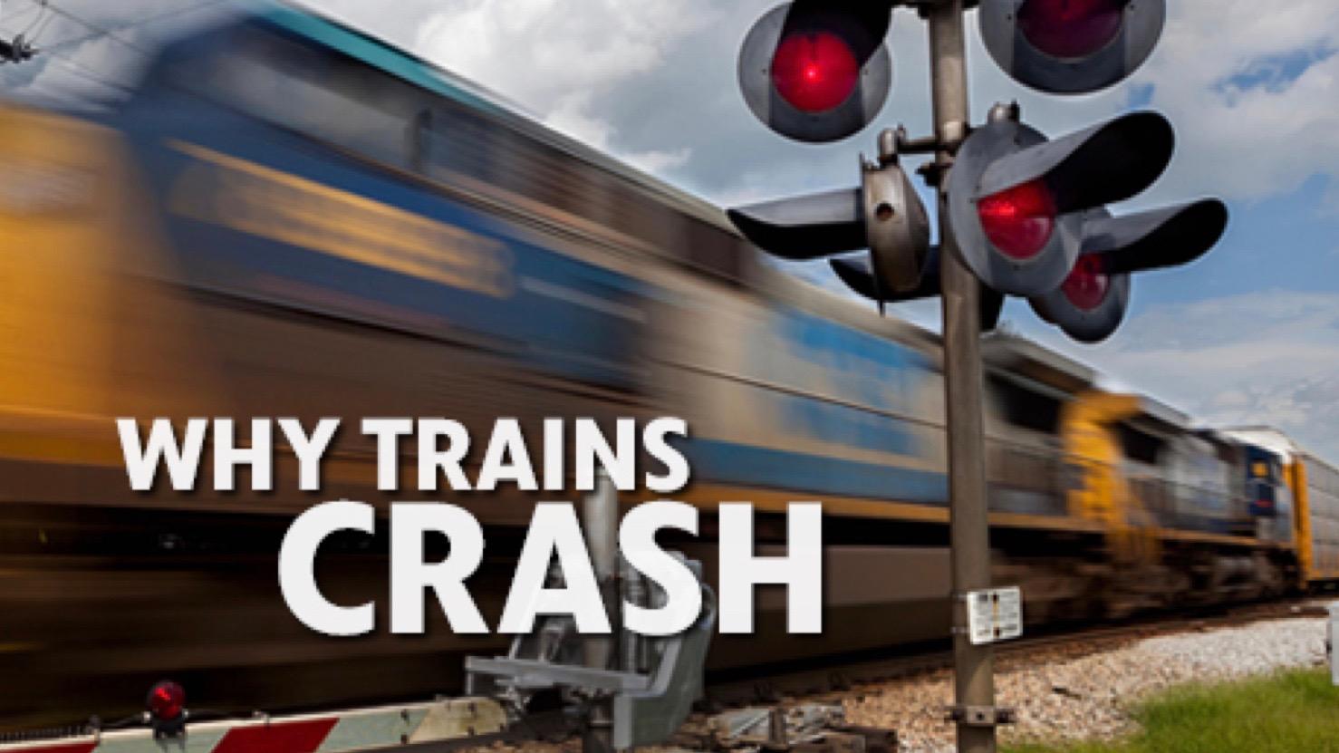 Nova: Why Trains Crash - Wednesday, February 22 - 9 p.m.