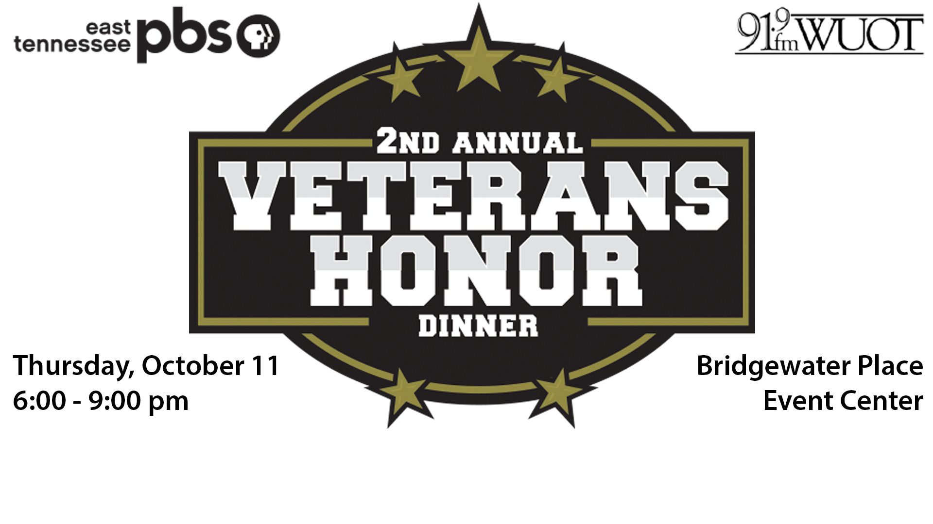 2nd Annual Veterans Honor Dinner