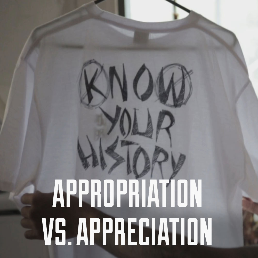 Appropriation vs Appreciation