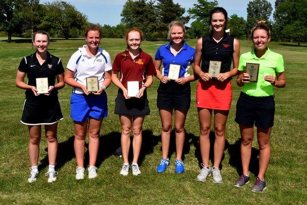2016 Class AA Girls Golf - All Tournament Team