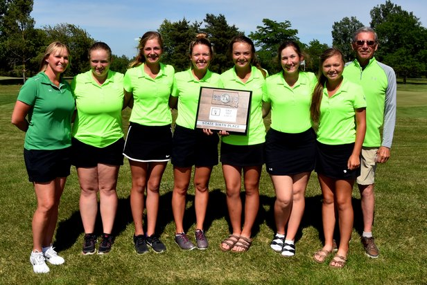 2016 Class AA Girls Golf 6th Place - Pierre T.F. Riggs
