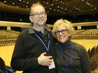Steve Colby and Lynn Scornavacca