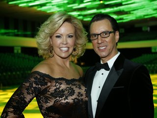 Mary Murphy and Tony Meredith