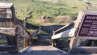 Bear Butte Stairs