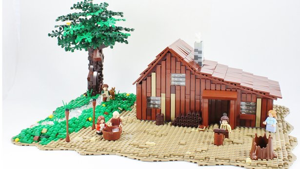 Little House in Legoland | SDPB