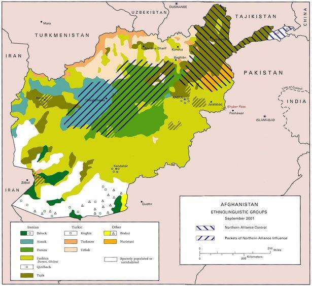 Ethnolinguistic Map