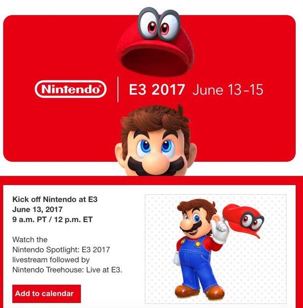 Nintendo's 2017 E3 Offering