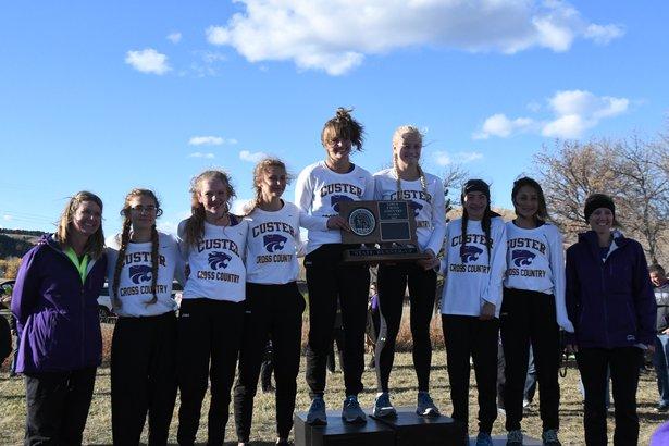 2017 CC Class A Girls 2nd Place - Custer.jpg