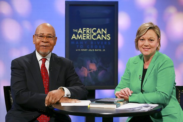 Dr. George Henderson, OU professor and civil rights pioneer, with Daphne Dowdy, President and CEO, OETA Foundation