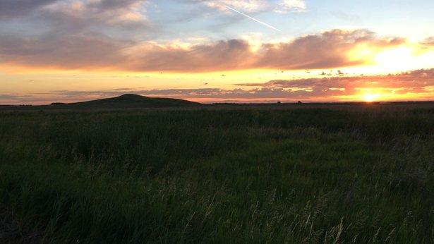 Spirit Mound at Sunrise