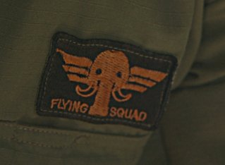 Elephant Flying Squad badge