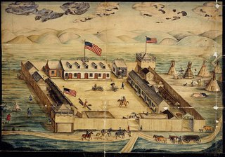 fort pierre Choteau - 1821
