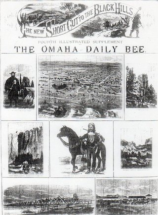Newspaper image  - Omaha Bee