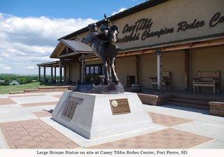Casey Tibbs South Dakota Rodeo Center