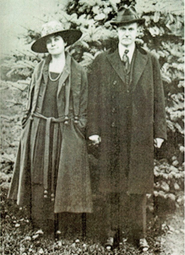 Grace and Calvin Coolidge