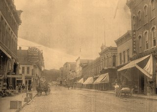deadwood main street - historical