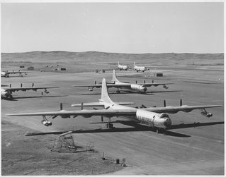 bombers on the flight line