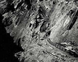 Black Hills Rail Line under construction