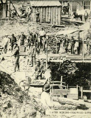 Deadwood Mining, 1876