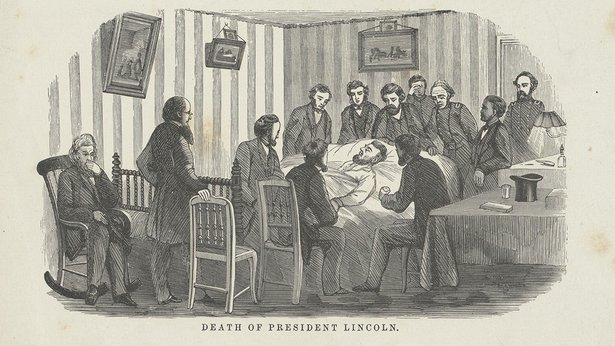 jbs todd at lincoln deathbed