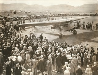 Rapid City airport, 1920s