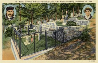 postcard of mount moriah cemetary