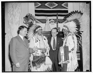 U.S. and Lakota Representatives
