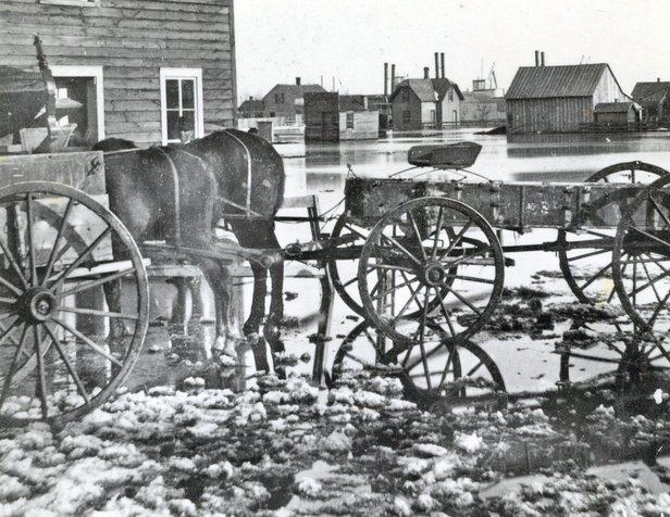 1881 flood in Yankton